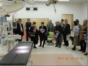 大阪国際がんセンター施設見学会報告写真2
