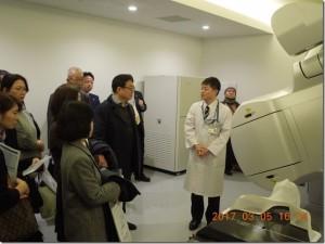 大阪国際がんセンター施設見学会報告写真1